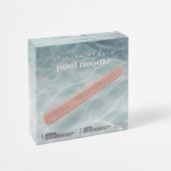 POOL NOODLE GLITTER - CORAL