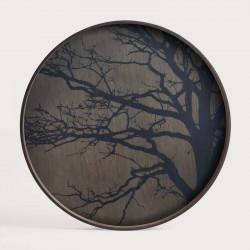 BLACK TREE DRIFTWOOD TRAY-RO/L