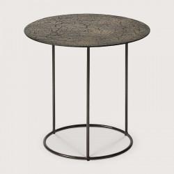 CELESTE SIDE TABLE LAVA WHISKY