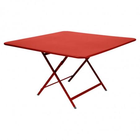 Table Shine Emu plateau teck