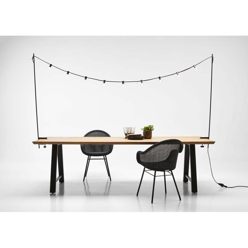 Table Straight Ethnicraft en chêne massif