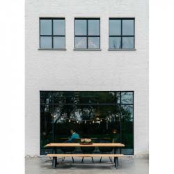 Table Basse Tripod chêne massif