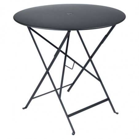 Table Circle Etnicraft Teck massif