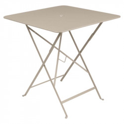Table basse Tripod Ethnicraft Teck massif