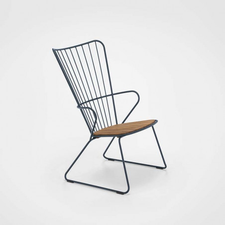 Chaise About a Chair AAC12 Hay structure noire / piétement Chène savonné