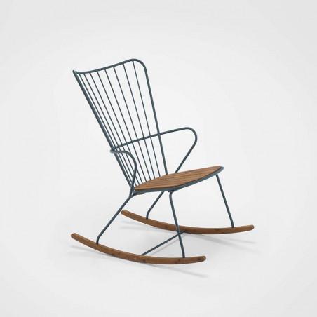 Chaise About a Chair AAC16 Hay structure noire / piétement en tube d'acier thermolaqué