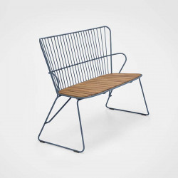 Chaise About a Chair AAC26 Hay structure noire / piétement en tube d'acier thermolaqué