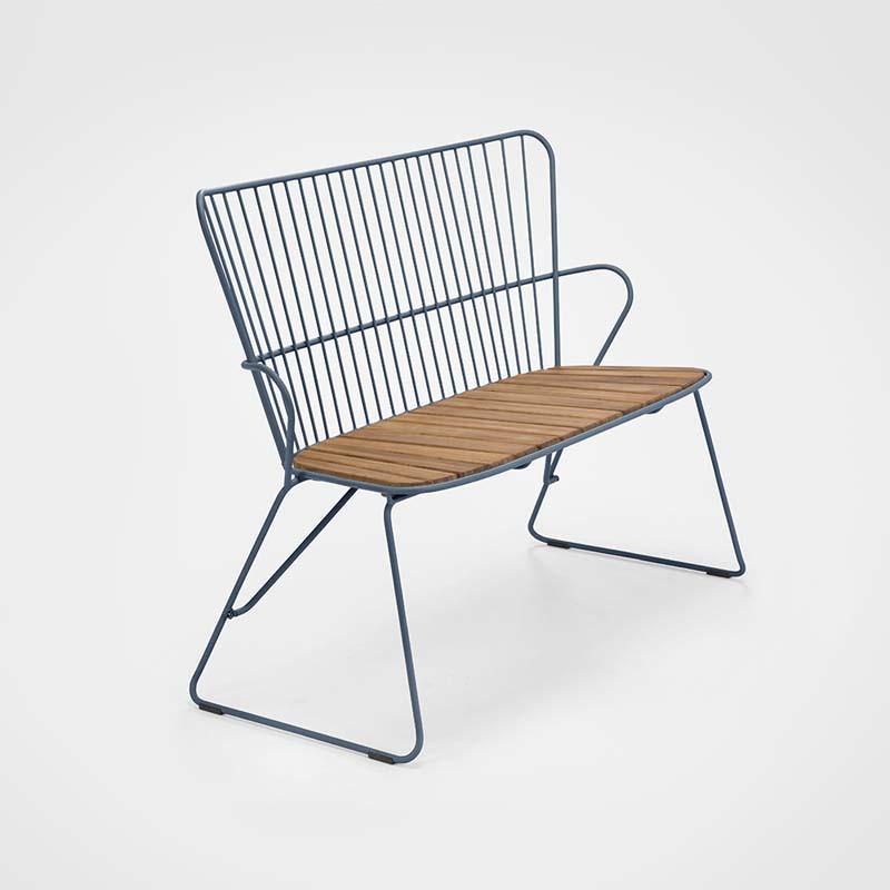 Chaise About a Chair AAC26 Hay structure noire / pietement en tube d'acier thermolaqué