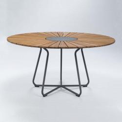 Tabouret About a stool AA32 Hay structure noire / pietement Chène noir / repose pied noir / hauteur 85