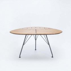 LEAF TABLE BAMBOU 146CM
