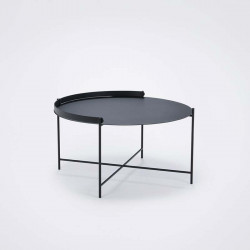EDGE TRAY TABLE diam 76 H40