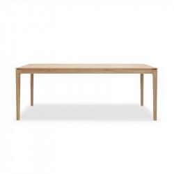 BOK TABLE 200X95X76 CHENE