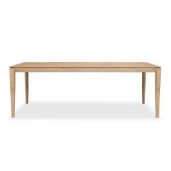 BOK TABLE 220X95X76 CHENE
