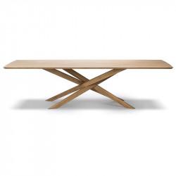 MIKADO TABLE 280X110X76 CHENE