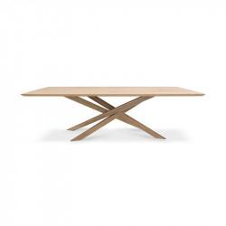 MIKADO TABLE 240X110X76 CHENE