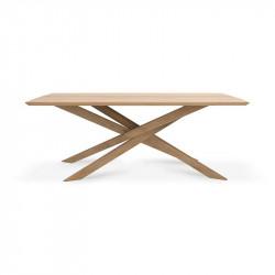 MIKADO TABLE 203X106X76 CHENE