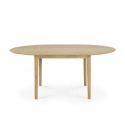 BOK TABLE RONDE RALLONGE...