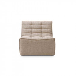 N701 CANAPE 1 PLACE BEIGE
